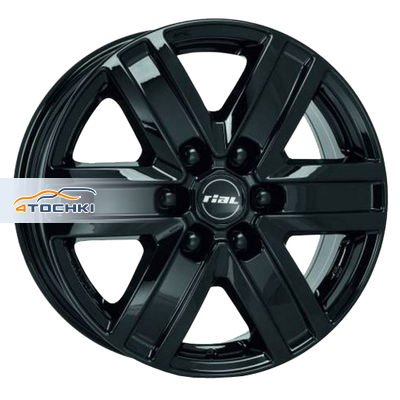 Диски Rial Transporter 6 Diamond Black 7x17/6x139,7 ЕТ57 D92,3