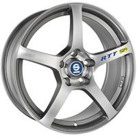 Sparco RTT524 Matt Silver Tech Diamond Cut
