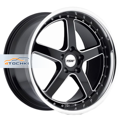 Диски TSW Carthage Gloss Black Mirror Lip Milled Spokes