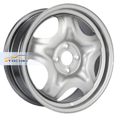 Литые диски ТЗСК Renault Sandero Stepway серебро в Новокузнецке, фотографии, размеры, цены. Купить литые колесные диски ТЗСК Renault Sandero Stepway серебро.