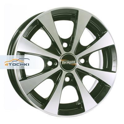 Диски Tech Line 311 Silver 4,5x13/4x114,3 ЕТ43 D69,1
