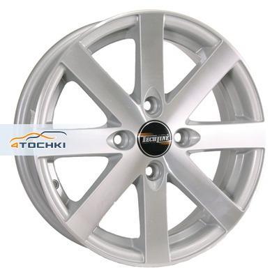 Диски Tech Line 312 Silver 5,5x13/4x98 ЕТ28 D58,6