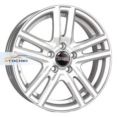 Диски Tech Line 329 Silver 5x13/4x98 ЕТ35 D58,6
