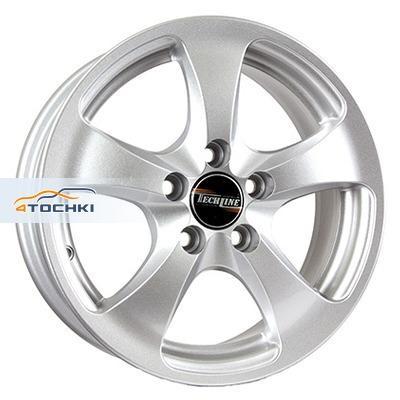 Диски Tech Line 403 Silver 5,5x14/5x100 ЕТ35 D57,1