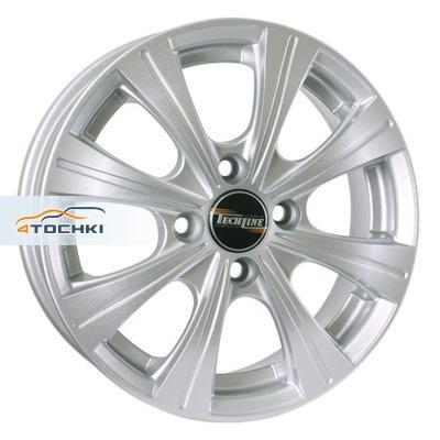 Диски Tech Line 423 Silver 5,5x14/4x100 ЕТ49 D56,6