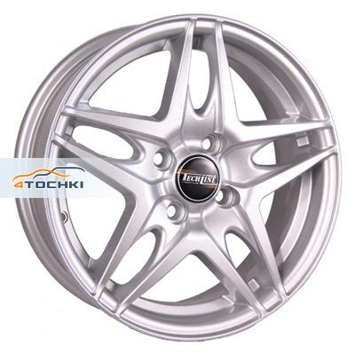 Диски Tech Line 430 Silver 5,5x14/4x100 ЕТ43 D60,1