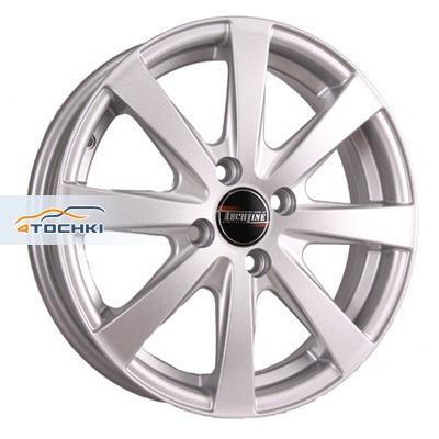 Диски Tech Line 534 Silver 5,5x15/4x100 ЕТ45 D60,1