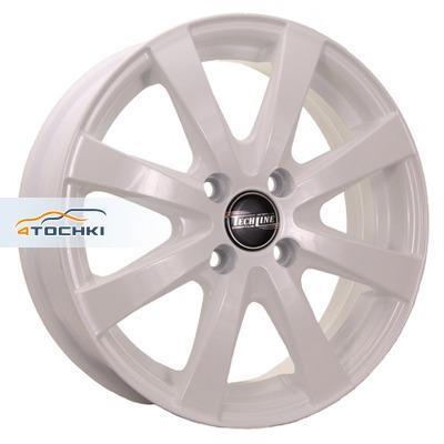 Диски Tech Line 534 White 5,5x15/4x100 ЕТ45 D54,1