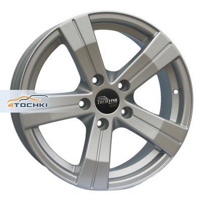 Диски Tech Line 602 Silver 7x16/5x114,3 ЕТ40 D67,1