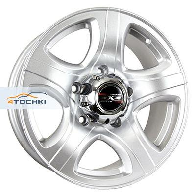 Диски Tech Line 622 Silver 7,5x16/6x139,7 ЕТ10 D110,1