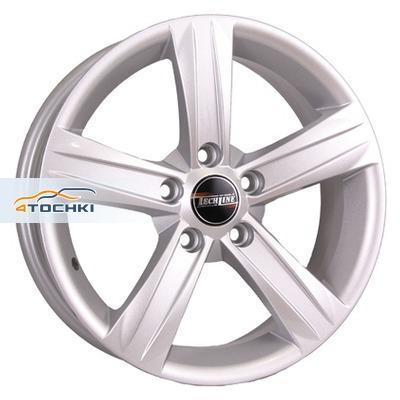 Диски Tech Line 628 Silver 6,5x16/5x105 ЕТ39 D56,6
