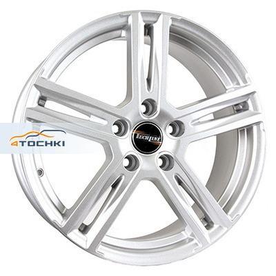 Диски Tech Line 707 Silver 7,5x17/5x114,3 ЕТ50 D67,1