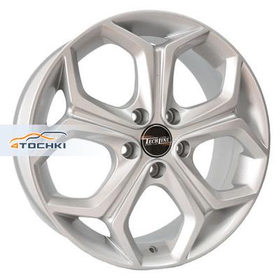 Диски Tech Line 733 Silver 7x17/5x108 ЕТ48 D63,4