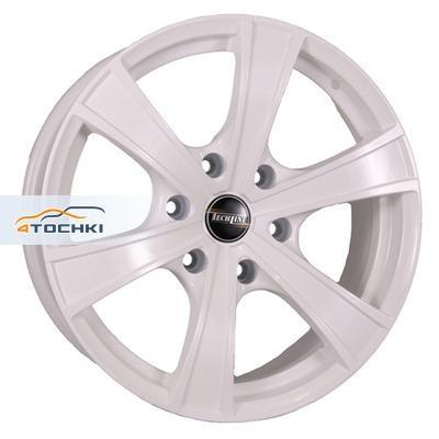 Диски Tech Line 803 White 8x18/6x139,7 ЕТ25 D106,1