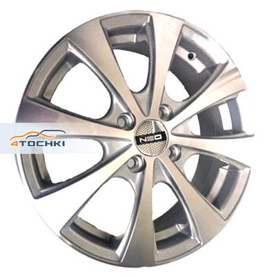 Диски Neo 546 Silver 6x15/4x100 ЕТ48 D54,1