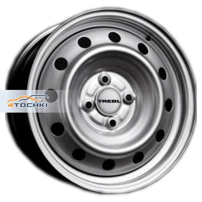 Диски Trebl 52A49A Silver 5,5x13/4x100 ЕТ49 D56,6
