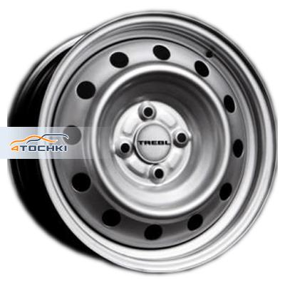 Диски Trebl 64A45R Silver 6x15/4x100 ЕТ45 D54,1