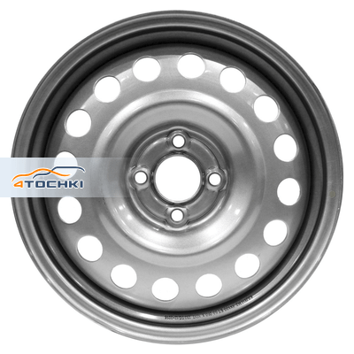 Диски Trebl 9197 Silver 6x16/6x180 ЕТ109,5 D138,8