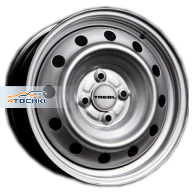 Диски Trebl X40020 Silver