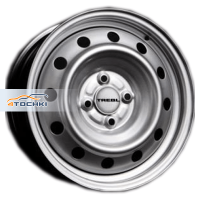 Диски Trebl X40032 Silver