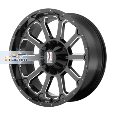 Диски XD Series XD806 Black/Machined 9x18/5x130 ЕТ30 D84,1